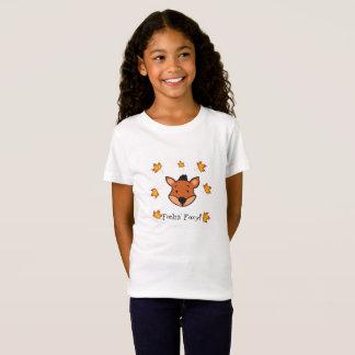 Feelin' Foxy - Girl's T-Shirt. T-Shirt