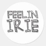 Feelin' Irie Stickers