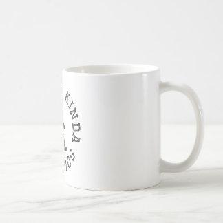 Feelin' Kinda Squatchy (Distressed) Basic White Mug