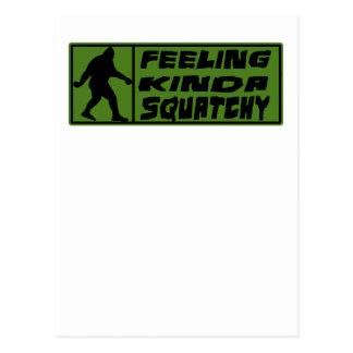 Feelin' Kinda Squatchy Postcard