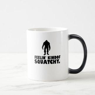 Feelin kinda Squatchy | Sasquatch Bigfoot Morphing Mug