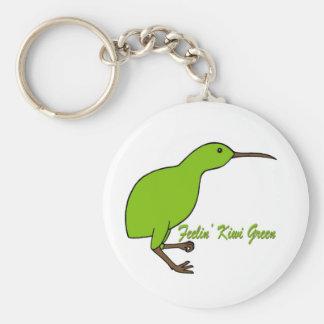 Feelin' Kiwi Green Key Ring