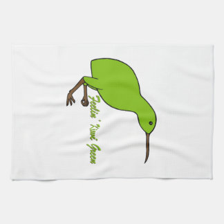 Feelin' Kiwi Green Tea Towel