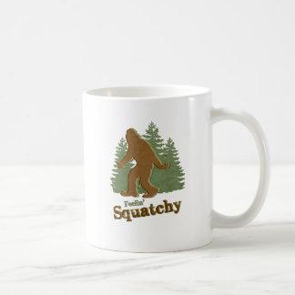 Feelin' Squatchy Basic White Mug
