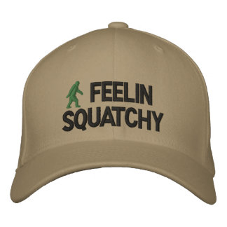 Feelin Squatchy Embroidered Baseball Caps