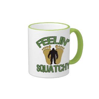 Feelin' Squatchy Ringer Coffee Mug
