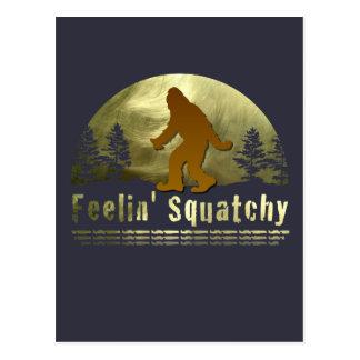 Feelin Squatchy Post Card
