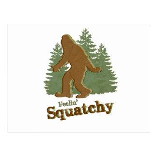 Feelin Squatchy Postcards
