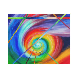 Feeling Alive - Abstract Art Canvas Print