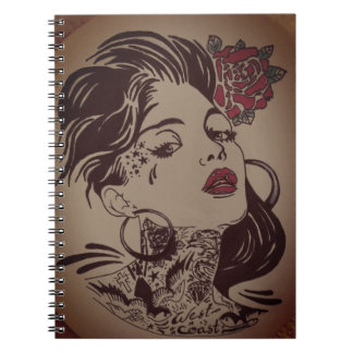 feeling beautiful note pad spiral note books