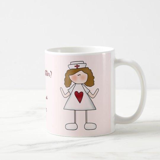 Feeling Better Thank a Nurse Coffee Mug