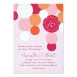 Feeling Bright Sweet 16 Invitations 13cm X 18cm Invitation Card