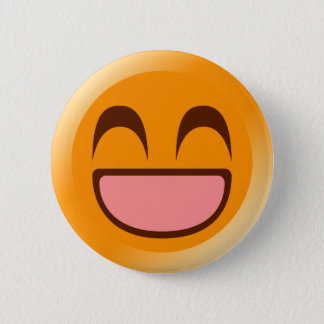 Feeling Fine 6 Cm Round Badge