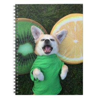 Feeling fruity! notebook
