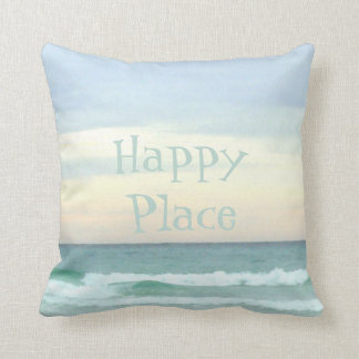 Feeling Good Vibes In My Happy Place Cushion