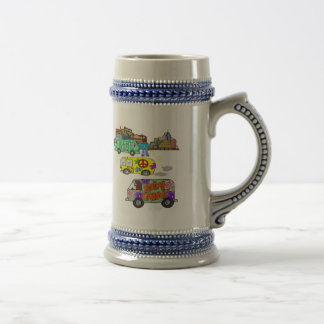 Feeling Groovy Baby Boomer Coffee Mugs