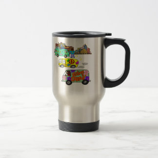 Feeling Groovy Baby Boomer Travel Mug
