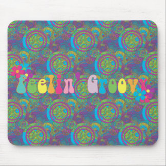 Feeling Groovy Mouse Mat