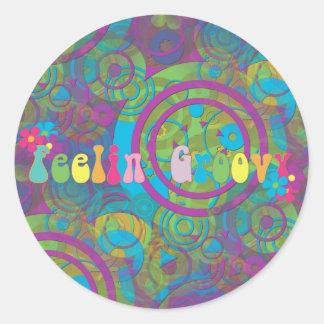 Feeling Groovy Stickers