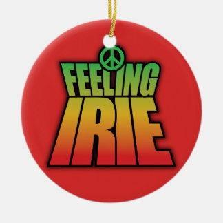 Feeling Irie Christmas Ornament