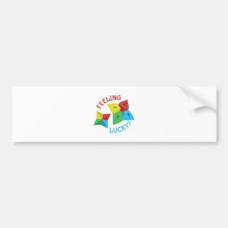 Feeling Lucky? Bumper Sticker