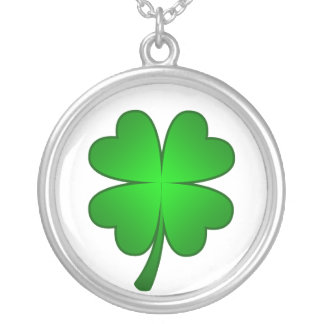 Feeling Lucky shamrock Necklace