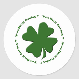 Feeling Lucky? Stickers