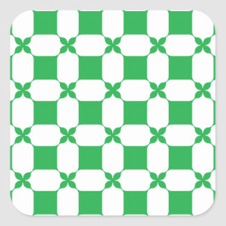 Feeling lucky today? square sticker
