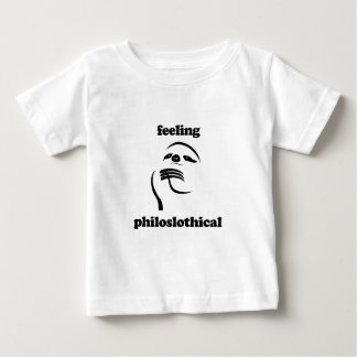 Feeling Philoslothical Baby T-Shirt