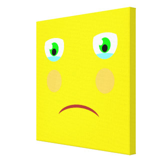 Feeling Sad Box Canvas