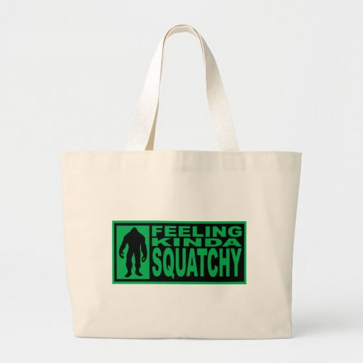 Feeling Squatchy Gear - Finding Bigfoot Tote Bag