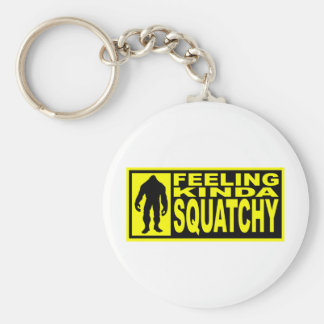 Feeling Squatchy Gear - Finding Bigfoot Key Ring