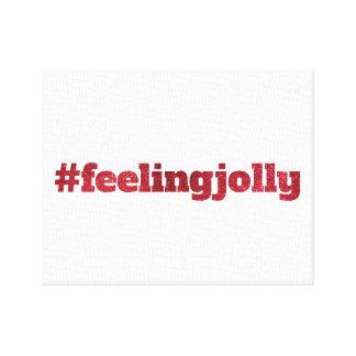 #feelingjolly - Christmas Canvas Decor