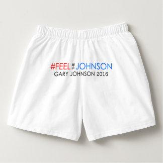 #feelthejohnson Gary Johnson 2016 Boxers