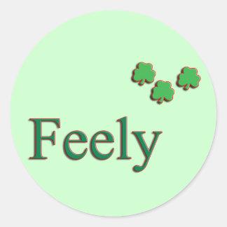 Feely Family Name Sticker