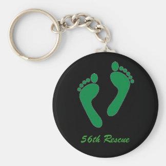 feet, 56th Rescue Key Ring