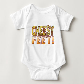 Feet Blue Cheese Baby Bodysuit