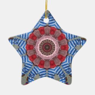 Feet In The Air, Morris Dance Design Ceramic Star Decoration