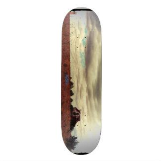 Feet in the Clouds Custom Skateboard