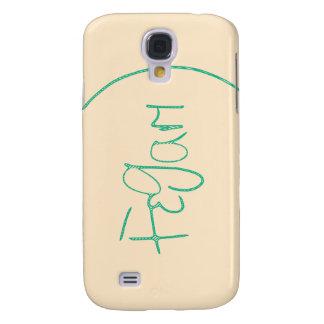 Fegari in Cream Samsung Galaxy S4, Barely There Galaxy S4 Case