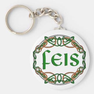 FEIS - Festival  - Dance Meet !! Basic Round Button Key Ring