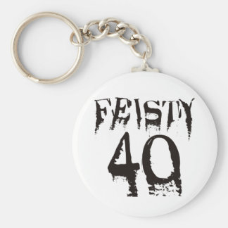 Feisty 40 key ring