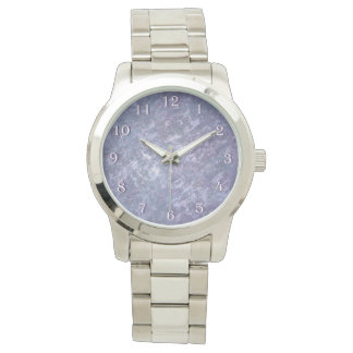 Feisty Bling | Chic Lilac Lavender Purple Abstract Watch