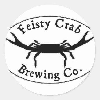 Feisty Crab Sticker