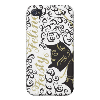 Feisty Feline iPhone 4/4S Cover