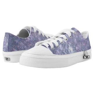 Feisty Style | Lavender Lilac Purple Splatter | Low Tops
