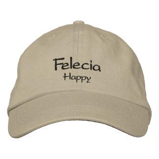 Felecia Embroidered Baseball Cap / Hat