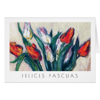 Felices Pascuas. Fine Art Easter Card in Spanish