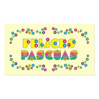 Felices Pascuas Pack Of Standard Business Cards