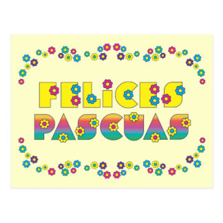 Felices Pascuas Post Cards